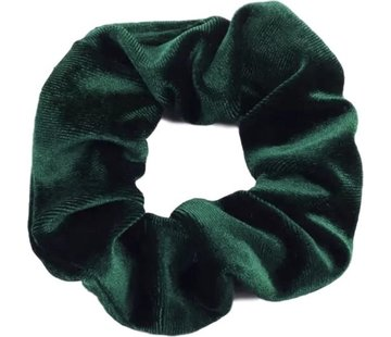 Scrunchie Velvet Dark Green