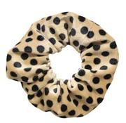Scrunchie Velvet Stippen