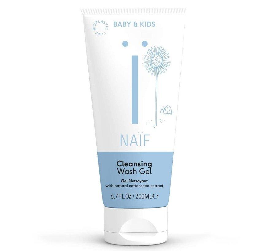 Baby & Kids Cleansing Wash Gel - 200ml