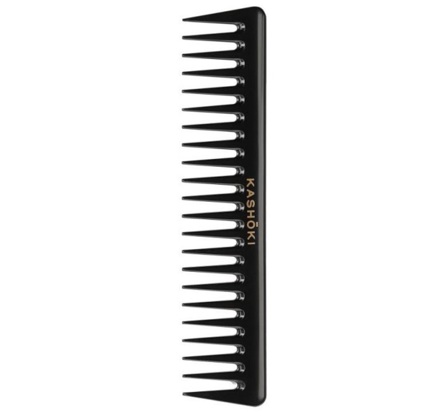 Wide Tooth Detangling Comb Youko - Straight