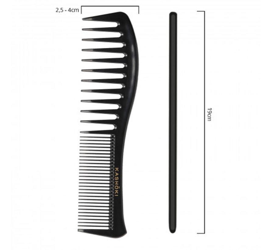 Various Tooth Detangling Comb Tomoko - Wavy