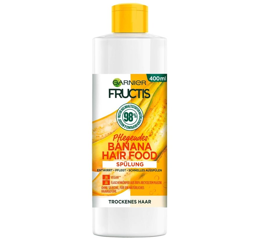 Fructis - Banana Hair Food Conditioner - 400ml