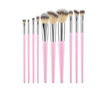 Make-Up Brush Pink Set