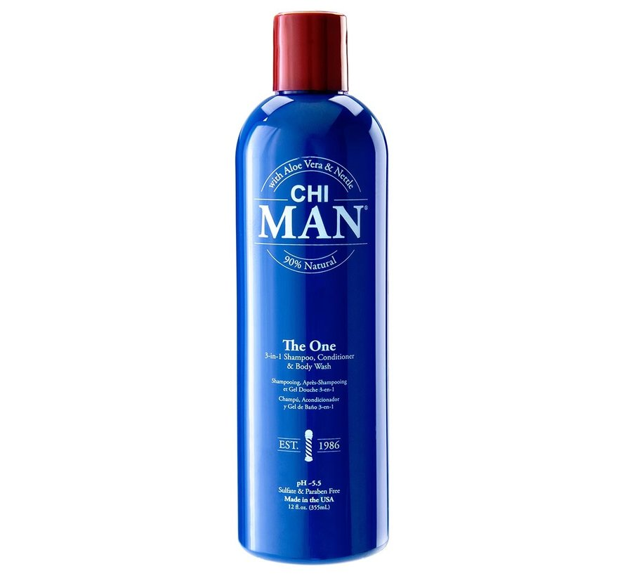 Man The One 3-in1 Shampoo