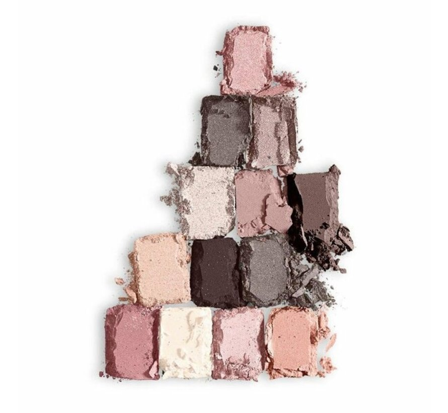 The Blushed Nudes Eyeshadow Palette - 9,6gr.