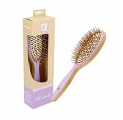 Bamboom Detangler Hairbrush - Wild Lavender