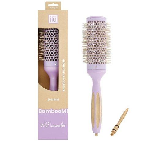 Bamboom Styling Wild Lavender Round Brush - 43mm