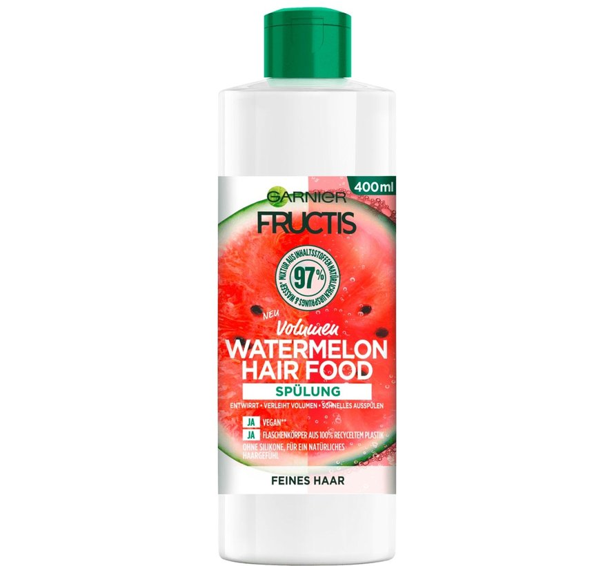 Fructis - Watermelon Hair Food Volume Conditioner - 400ml