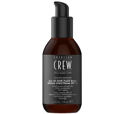 American Crew All-In-One Daily Face Balm - 170ml
