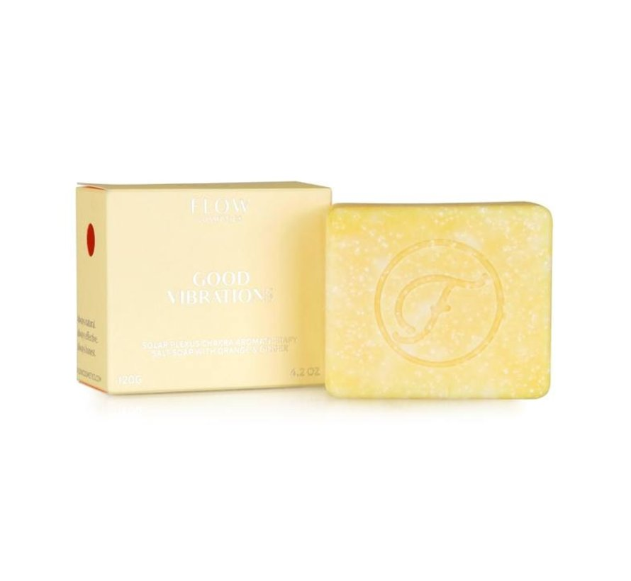 Good Vibrations Aromatherapeutic  Face, Hair & Body Soap - 120gr.