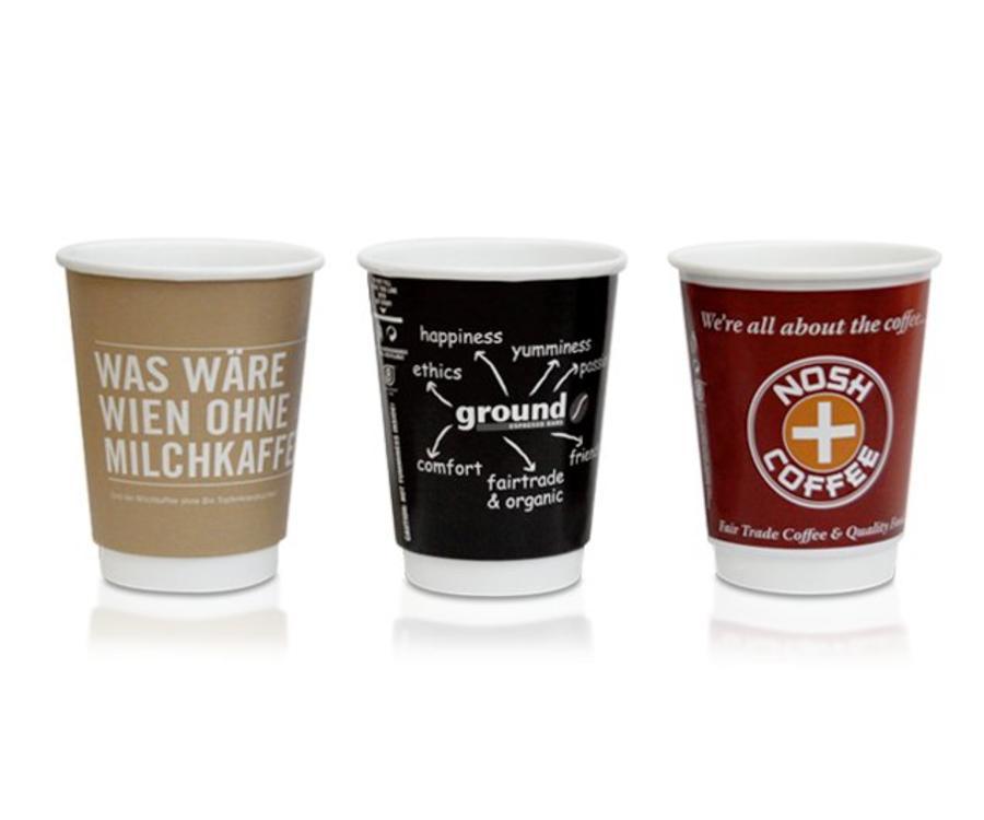 Koffiebekers.nl 300 ml Koffiebekers bedrukken (Koffie Latte Formaat)