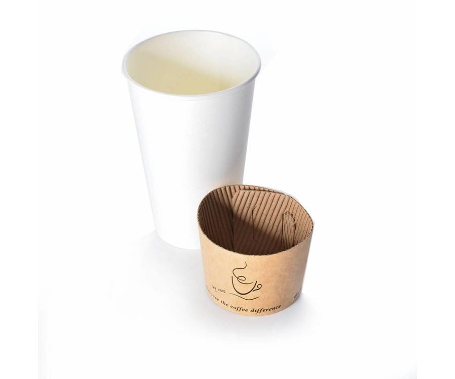 Koffiebekers.nl Beker wikkel voor koffiebekers bedrukken