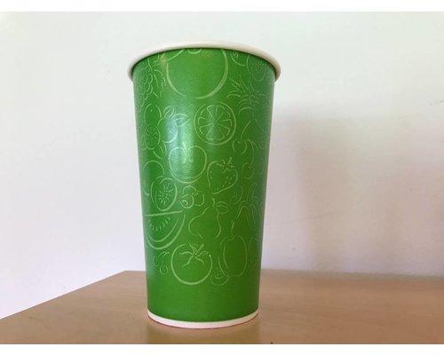 Milkshakebeker - 400 ml - Refresh yourself