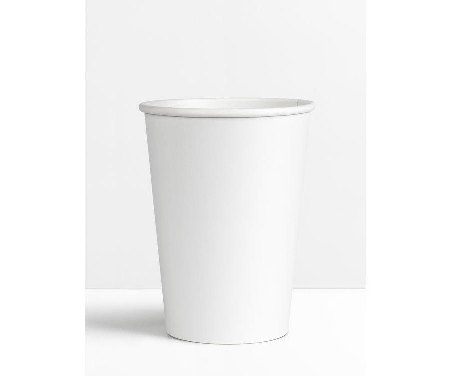 Koffiebeker Wit - 180ml - 7.5oz !