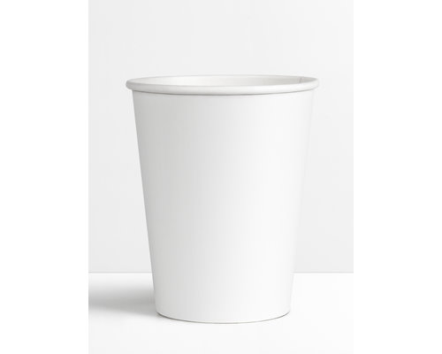 Koffiebekers.nl Koffiebeker Wit - 200ml - 8oz
