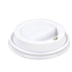 Koffiebeker Deksel - 90mm - Wit