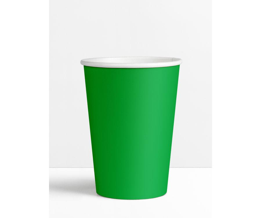 Koffiebeker Groen - 180ml - 7.5oz !