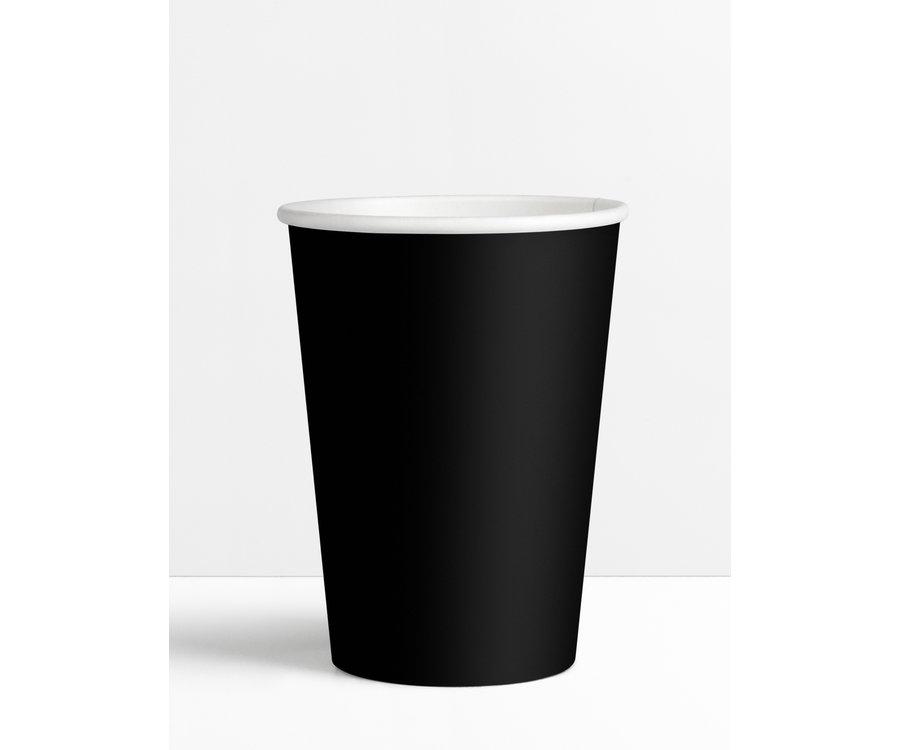 Koffiebekers.nl Koffiebeker Zwart - 180ml - 7.5oz