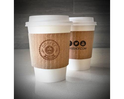 Koffiebeker Sleeves - Full Colour bedrukt