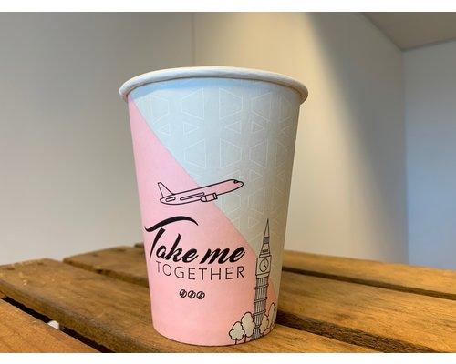 Koffiebekers 180ml - Full Colour bedrukt