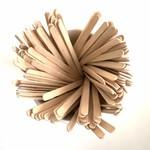 Houten roerstaafjes 11 cm (2.000)
