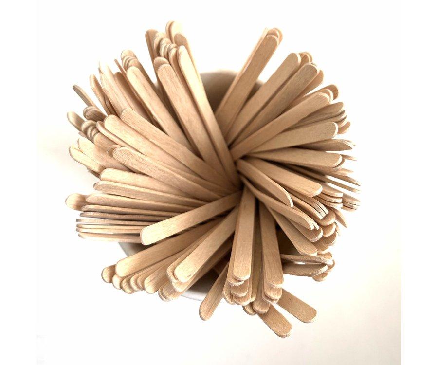 Houten roerstaafjes 11 cm (1.000)