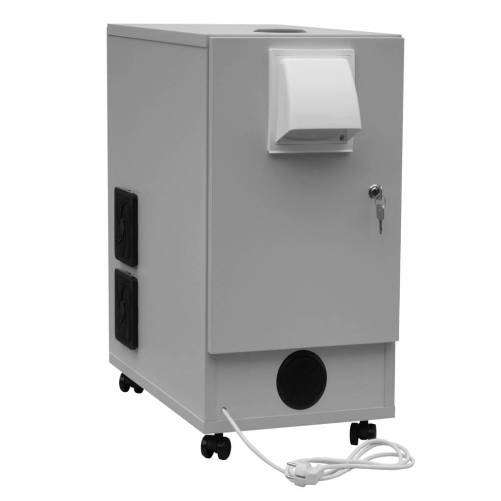 Stofwerende computerkast voor industriele omgevingen