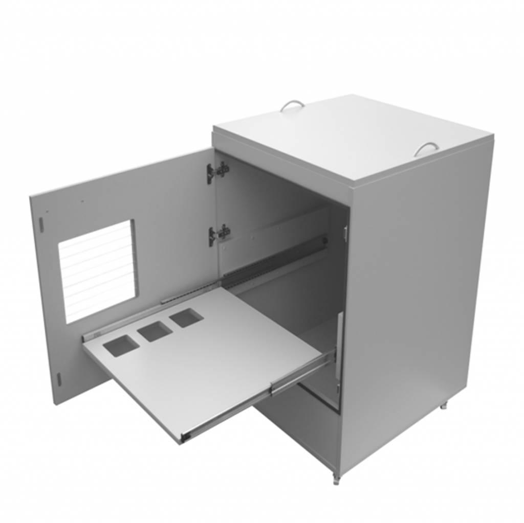 """Verwarmde kast voor label/barcode printers """"Eti Thermomatic"""""""