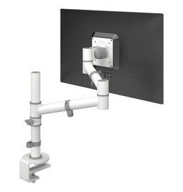 Single flatscreen monitorarm  met tafelklem