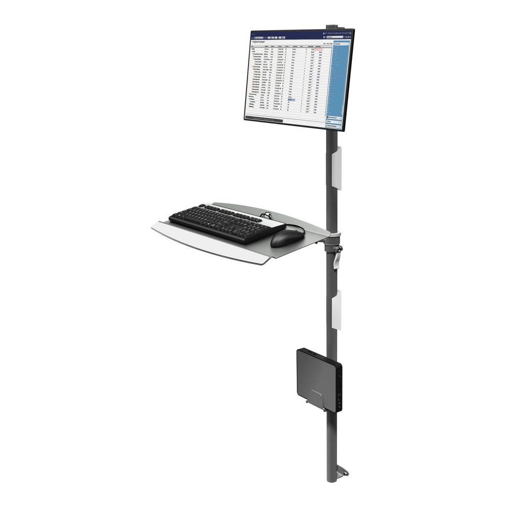 Combo monitor met toetsenbord en computer muurbevestiging VM732