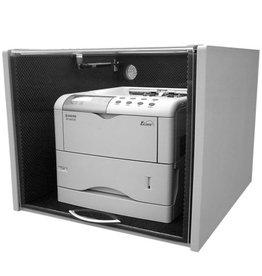 Geluiddempende kappen voor laserprinters