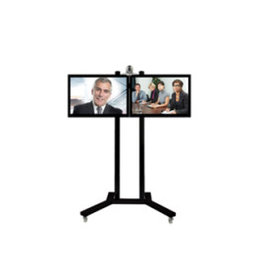 Video-conferentiestandaard voor twin-screens tot 32 inch