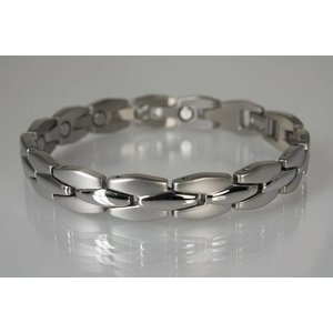 8305S Damen Magnetarmband Silber