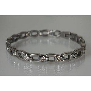 8202SZ Damen Magnetarmband Silber