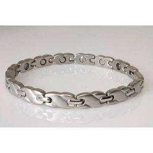 8561S Magnetschmuck Armband im Stil Silber