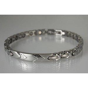 8149S Magnetschmuck Damenarmband Silber