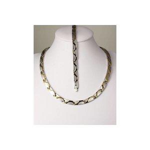 H9055B-Set Armband und Halskette im Set
