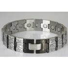 "8485SBL Magnetschmuck Armband ""Relief"""