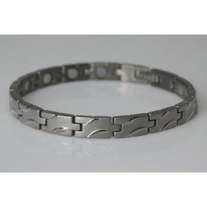 8141S Magnetschmuck Armband im Stil silber-matt