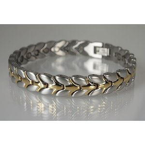 8206B Magnetschmuck Armband Bicolor