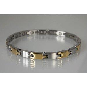 8215B Magnetschmuck Armband für Damen, Stil bicolor