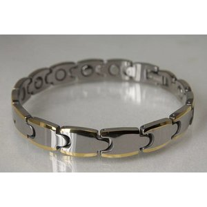 WG8946H Wolfram Germanium Herrenmagnet Armband
