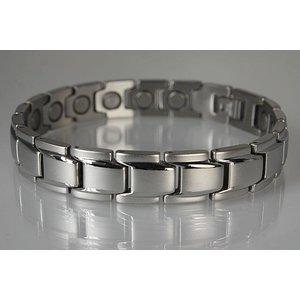 8262S-4 Völlig neues Magnetschmuck Armband Silber