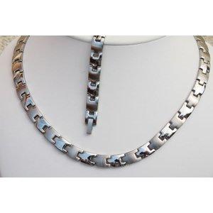 H9015S-Set Magnetschmuck Halskette und Armband im Set