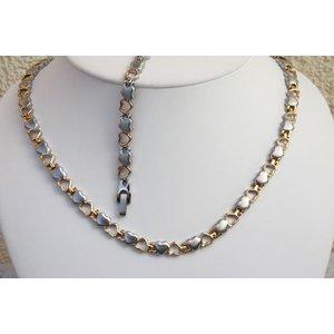 H9035B-Set Halskette und Armband im Set