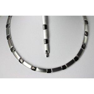 H9058B-Set Halskette und Armband im Set