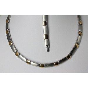 H9058G-Set Halskette und Armband im Set