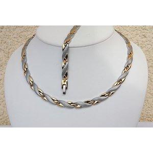 H9059B-Set Halskette und Armband im Set