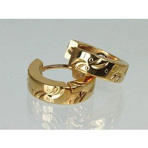 20050G Magnetschmuck Ohrringe im Stil Gold