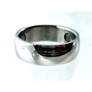 R030 Magnetschmuck Ring Glanz poliert